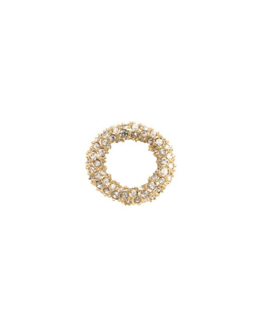 Alexis Bittar - Metallic Gold Tone Pave Ring Slide You Might Also Like - Lyst