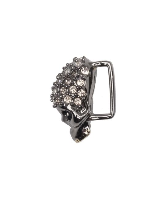 Alexis Bittar - Multicolor Gunmetal Tone Pave Skull Slide You Might Also Like - Lyst