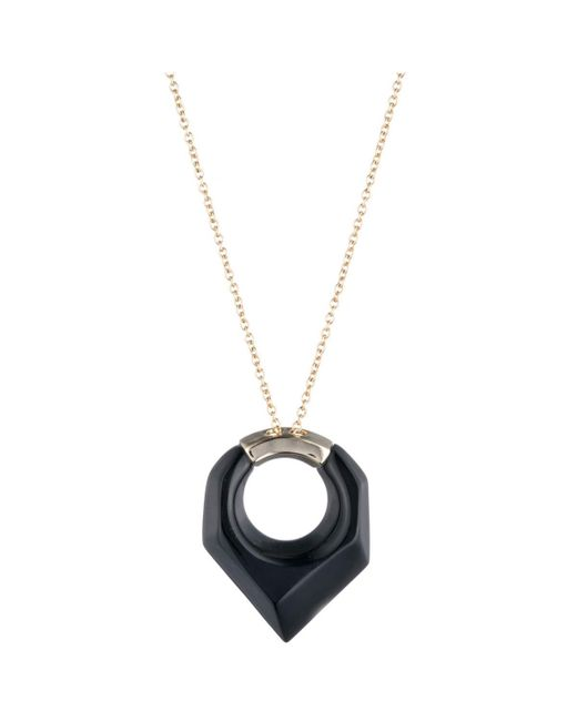 Alexis Bittar - Metallic Faceted Pentagon Pendant Necklace You Might Also Like - Lyst