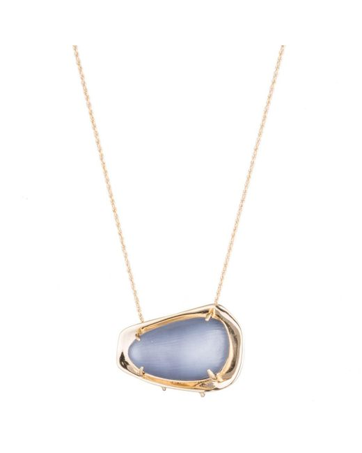 Alexis Bittar - Metallic Liquid Gold Lucite Pendant Necklace You Might Also Like - Lyst
