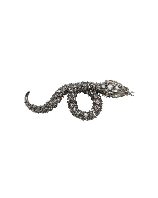 Alexis Bittar - Metallic Coiled Pave Snake Slide You Might Also Like - Lyst
