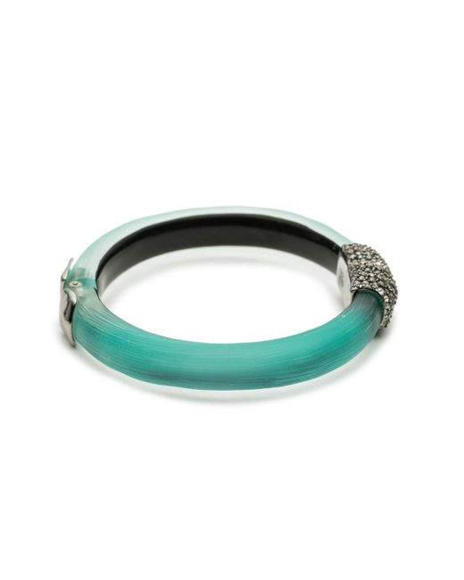 Alexis Bittar - Green Crystal Encrusted Capped Hinge Bracelet You Might Also Like - Lyst