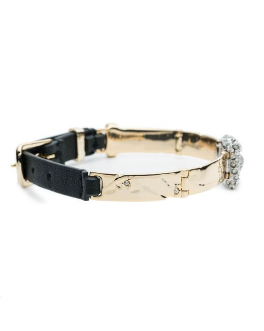 Alexis Bittar | Multicolor Wrist Watch Style Leather Strap Bracelet You Might Also Like | Lyst