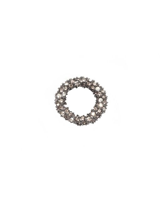 Alexis Bittar | Metallic Gunmetal Tone Pave Ring Slide You Might Also Like | Lyst