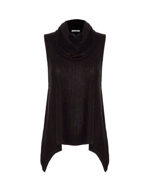 Alice + Olivia | Black Sharry Sleeveless Turtleneck | Lyst