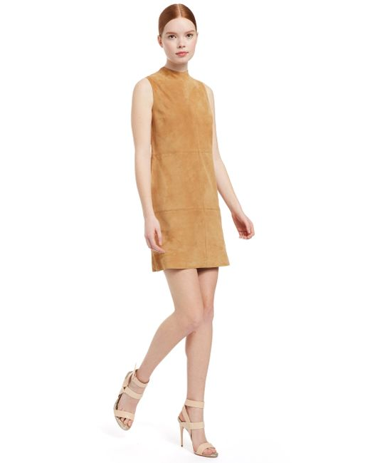 b8ac85b34faa ... Alice + Olivia - Multicolor Coley Suede Mini Dress - Lyst ...