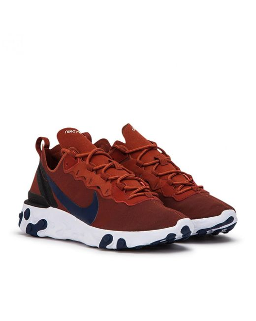 82a99457d880 Nike - Brown Nike React Element 55 for Men - Lyst ...