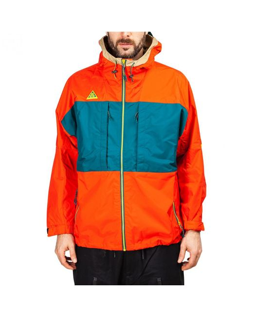 d636a23f09 Lyst - Nike Nike Nsw Acg Anorak in Red for Men - Save 43%