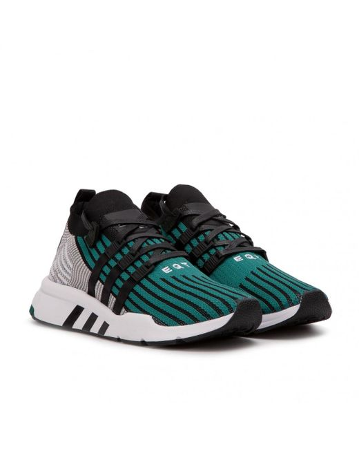 the best attitude f0d89 caf6a Adidas - Black Eqt Support Mid Adv Pk for Men - Lyst ...