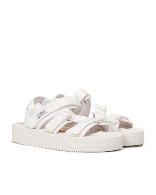 19fc86d093f Suicoke - White Sandals Kisee-vpo for Men - Lyst ...
