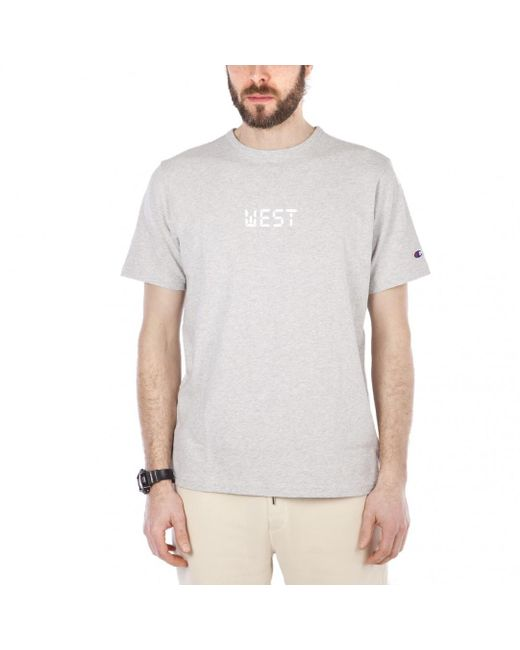 Champion - Gray X Beams West Beams Tee for Men - Lyst