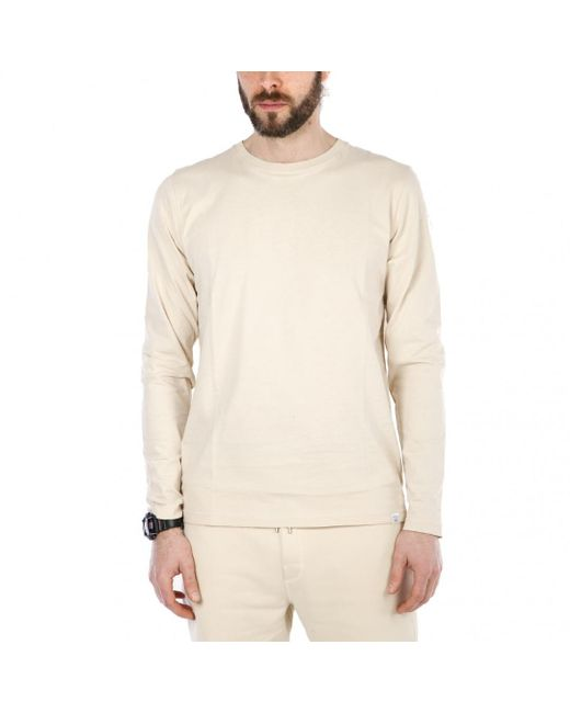 Norse Projects - Natural Niels Standard Ls for Men - Lyst