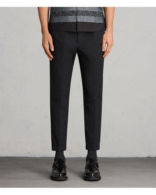 AllSaints - Black Tallis Pant Usa Usa for Men - Lyst
