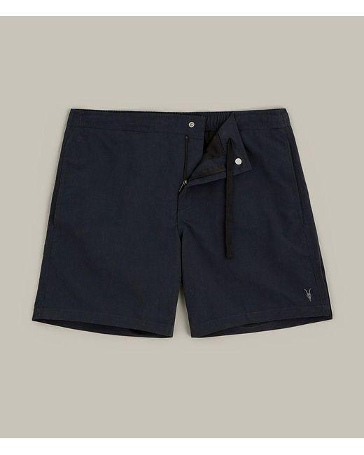 AllSaints - Blue Warden Swim Shorts Usa Usa for Men - Lyst