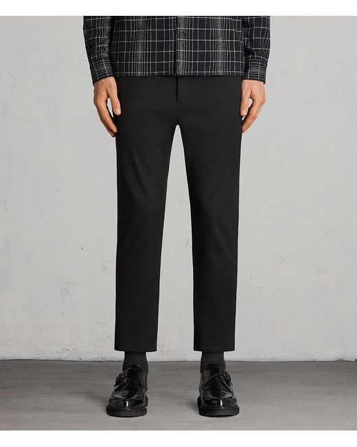AllSaints - Black Kato Trouser for Men - Lyst