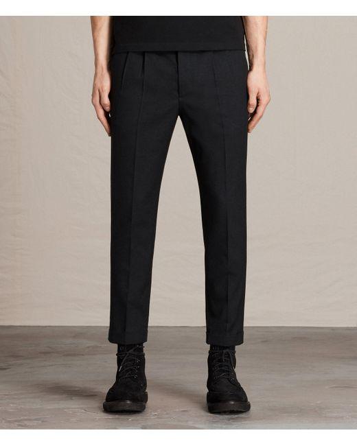 AllSaints | Gray Tallis Trouser for Men | Lyst