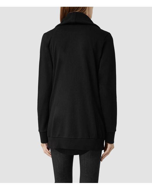 Allsaints Seattle Wa: Allsaints Dahlia Sweatshirt In Black