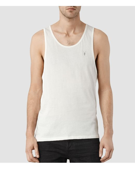 AllSaints | White Tonic Tank Usa Usa for Men | Lyst