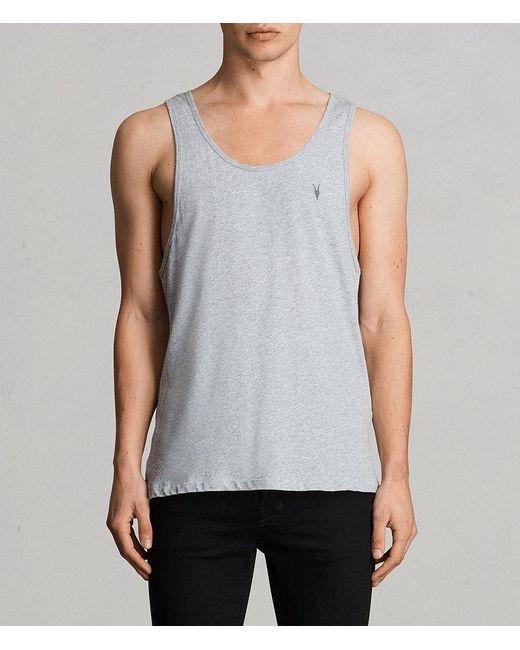 AllSaints - Gray Tonic Tank Usa Usa for Men - Lyst