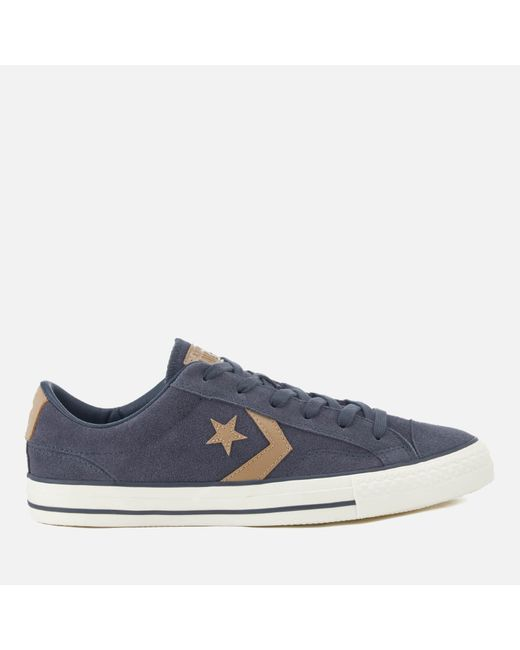 Converse - Blue Star Player Ox Trainers for Men - Lyst
