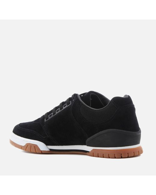 edcaede117df Lyst - Lacoste Indiana 316 Trainers in Black for Men - Save 50%
