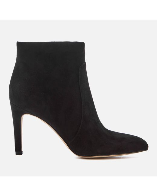 Sam Edelman - Black Women's Olette Suede Shoe Boots - Lyst