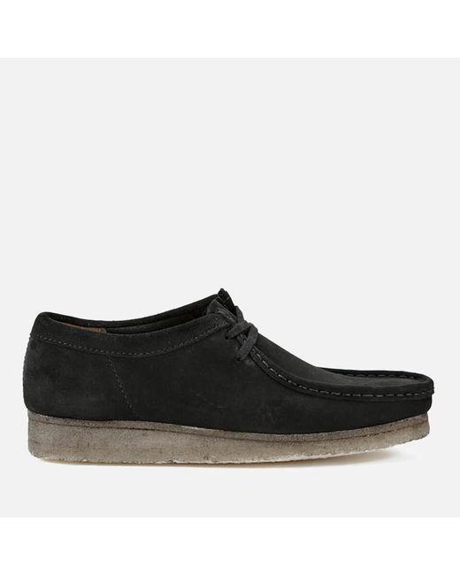 Clarks - Black Men's Wallabee Shoes for Men - Lyst