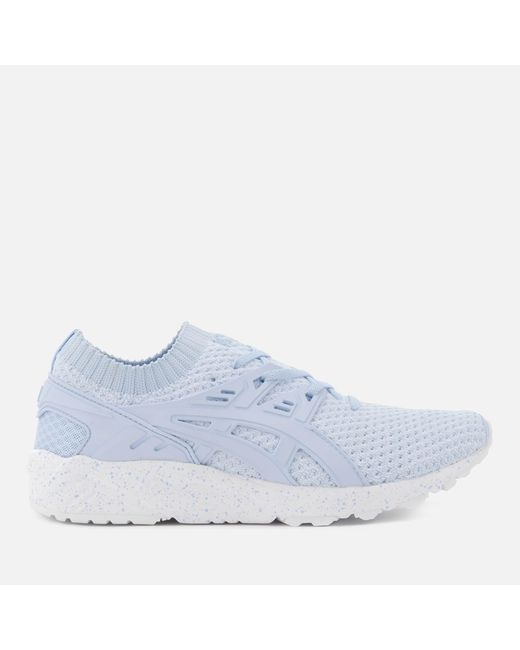 Asics | Blue Lifestyle Women's Gel-kayano Knit Lo Trainers | Lyst