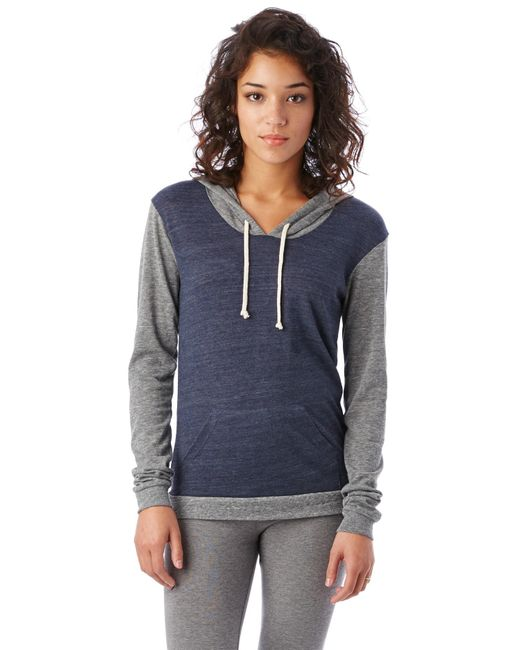 Alternative Apparel | Blue Classic Eco-jersey Pullover Hoodie | Lyst