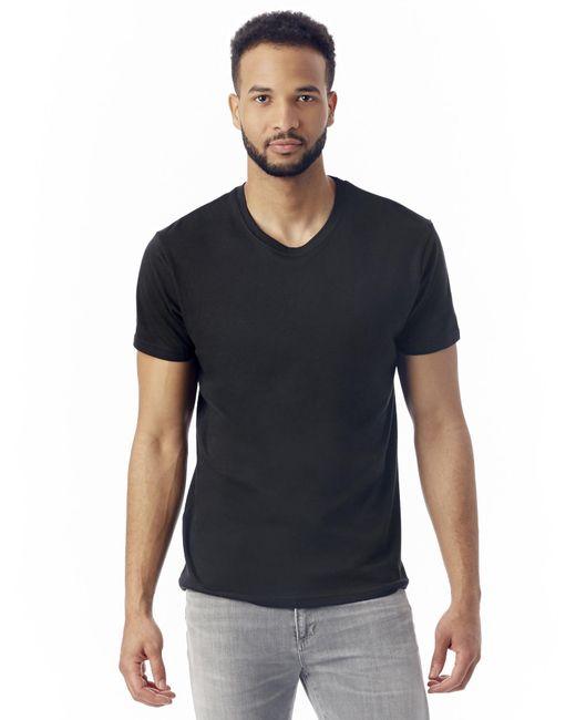 Alternative Apparel   Black Pre-game Cotton Modal T-shirt for Men   Lyst