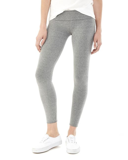 Alternative Apparel | Gray Groundwork Eco-lycra Leggings | Lyst