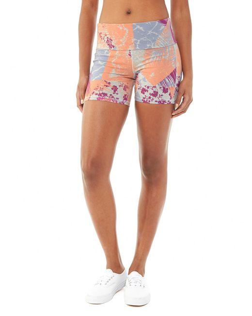 Alternative Apparel   Blue Pull Up Shorts   Lyst