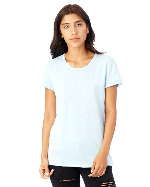 Alternative Apparel - Blue Keepsake Vintage Jersey T-shirt - Lyst