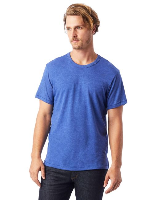 Alternative Apparel - Multicolor Keeper Vintage Jersey Crew T-shirt for Men - Lyst