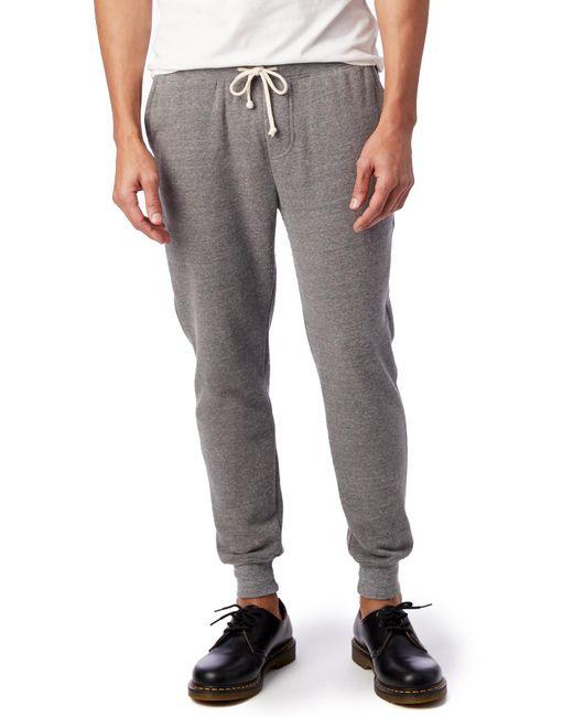 Alternative Apparel - Gray Dodgeball Eco-fleece Pants for Men - Lyst