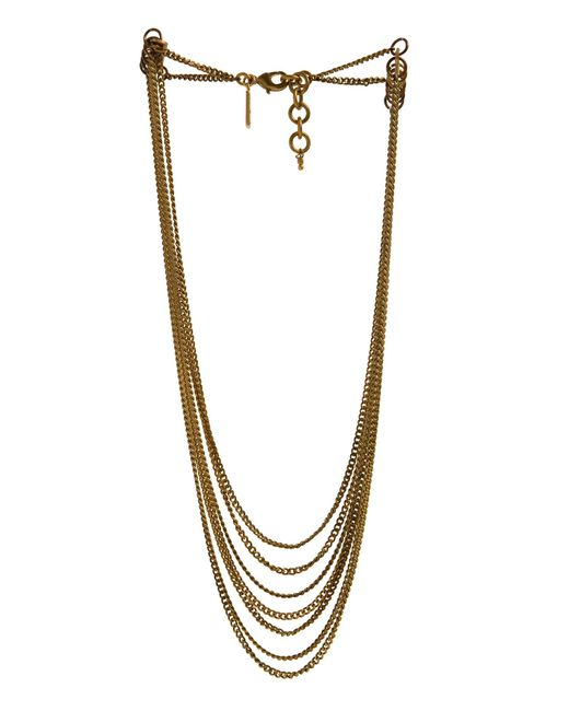 Alternative Apparel - Metallic Me To We Tiered Spirit Choker - Lyst
