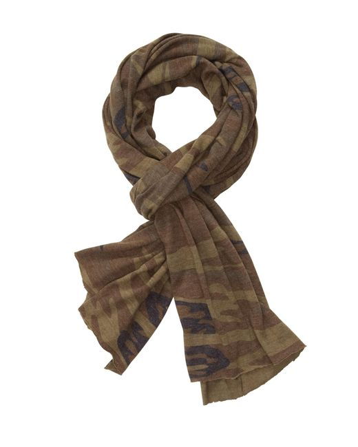Alternative Apparel - Green Printed Oversized Bundle Up Scarf - Lyst