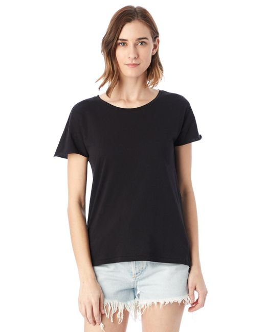 Alternative Apparel - Black Rocker Garment Dyed T-shirt - Lyst