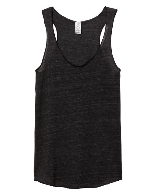 Alternative Apparel - Black Meegs Racerback Eco-jersey Tank Top - Lyst