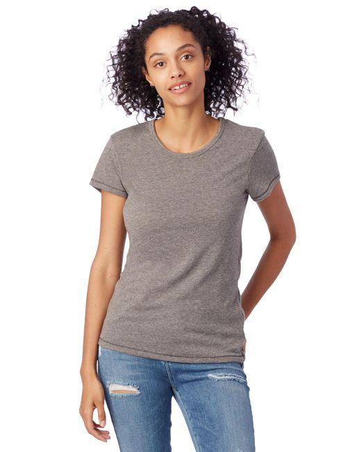 Alternative Apparel - Multicolor Keepsake Vintage Jersey T-shirt - Lyst
