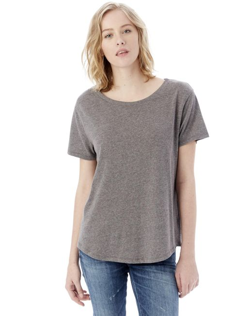 Alternative Apparel - Gray Backstage Vintage Jersey T-shirt - Lyst