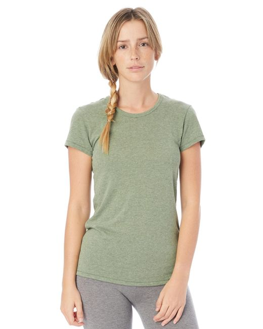 Alternative Apparel - Green Keepsake Vintage Jersey T-shirt - Lyst
