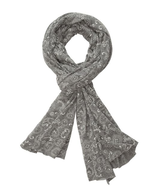 Alternative Apparel - Gray Printed Oversized Bundle Up Scarf - Lyst