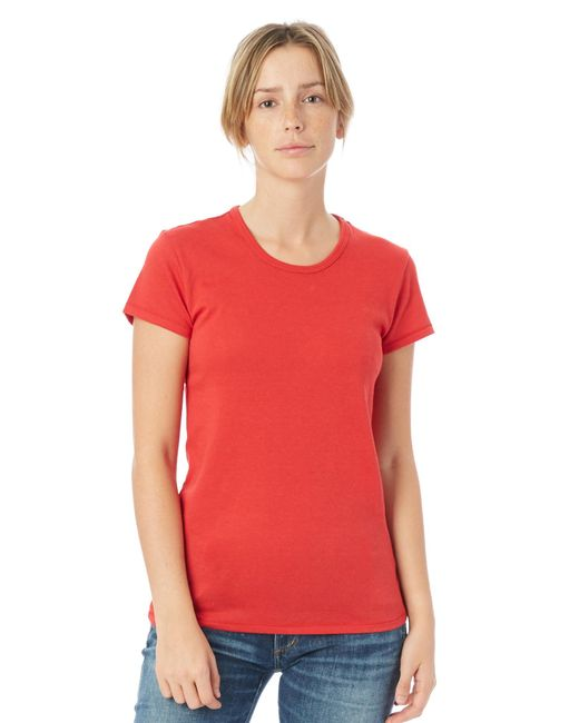 Alternative Apparel - Red Keepsake Vintage Jersey T-shirt - Lyst