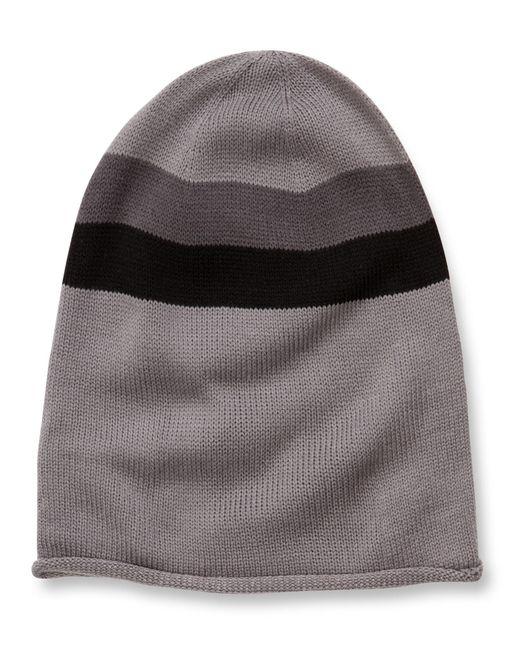 Alternative Apparel   Gray Oversized Knit Beanie   Lyst