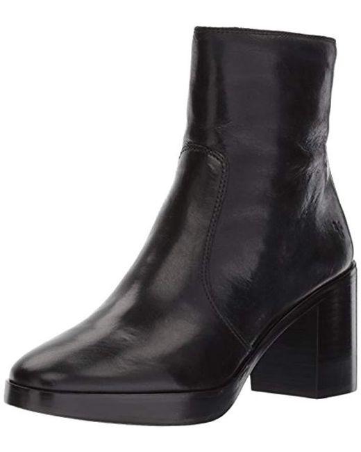 Frye - Black Joan Campus Short Boot - Lyst