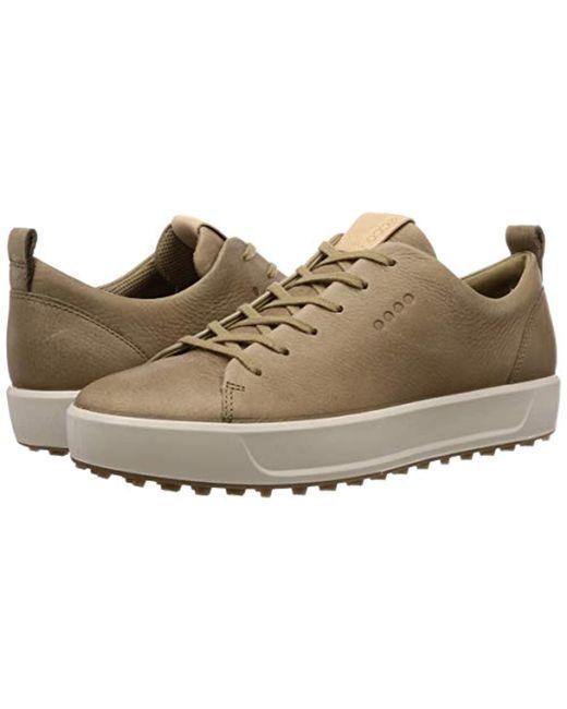 5fc594b23e6de ... Ecco - Brown Soft Hydromax Golf Shoe for Men - Lyst ...