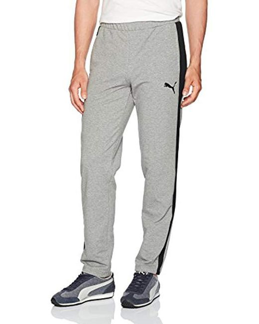 PUMA - Gray Stretchlite Pants for Men - Lyst