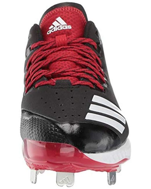 save off 06977 383b6 ... Adidas - Red Icon Bounce Cleat for Men - Lyst ...
