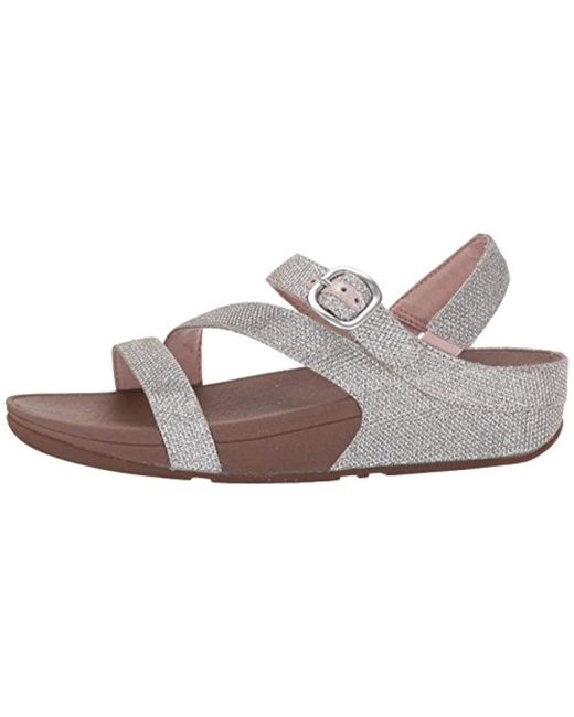 26ac8989813850 ... Fitflop - Multicolor The Skinny Sparkle Z-strap Sandal Flip Flop - Lyst  ...